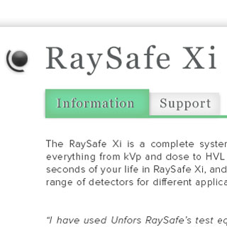 RaySafe Screendesign 2